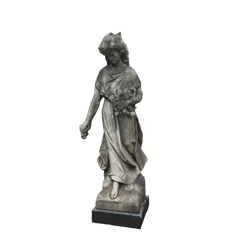 woman statue 3ds
