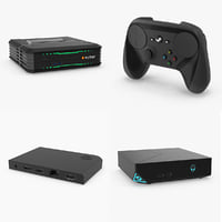 steam console accessory pack 3d model