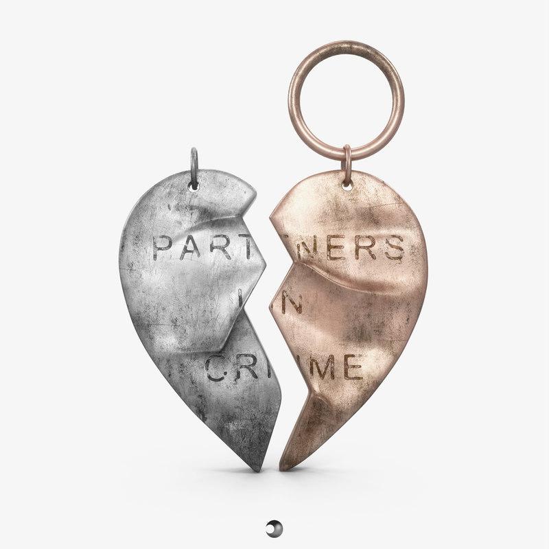 pendant - partners crime 3d obj