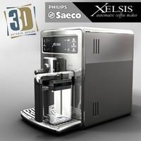 3d model saeco xelsis