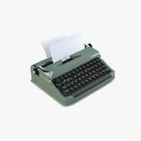 Realistic Typewriter