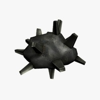 3d asteroid crystal model
