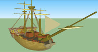 pirates ship 3ds
