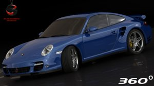3d max porsche 911 turbo 2006