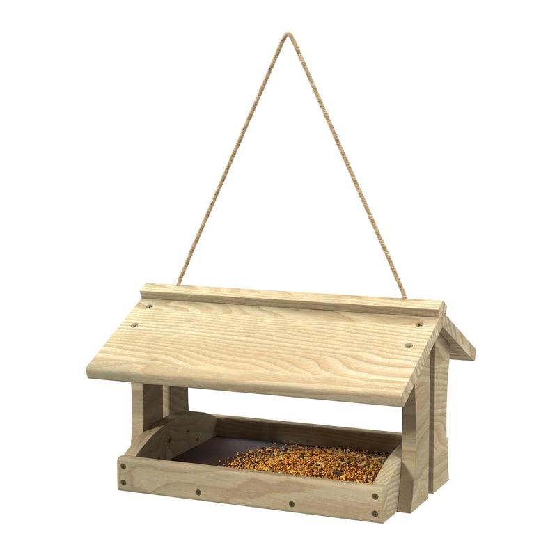 3d bird feeder