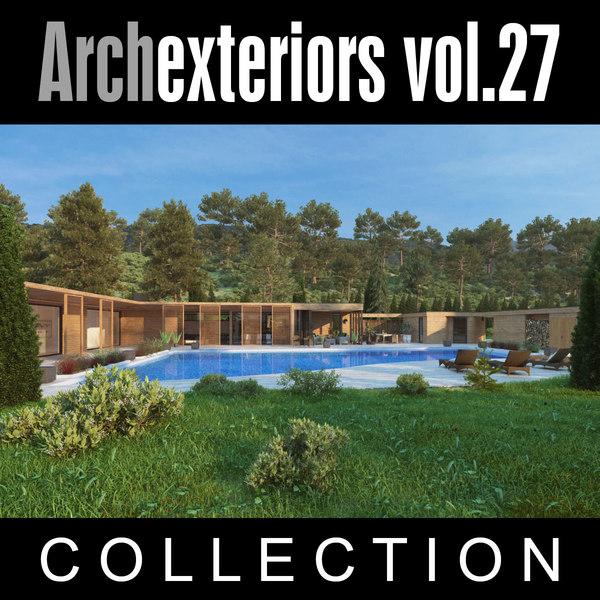 3d archexteriors vol 27 exterior model