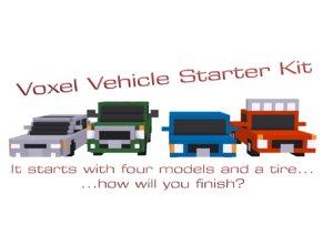 voxel vehicles starter kit obj free