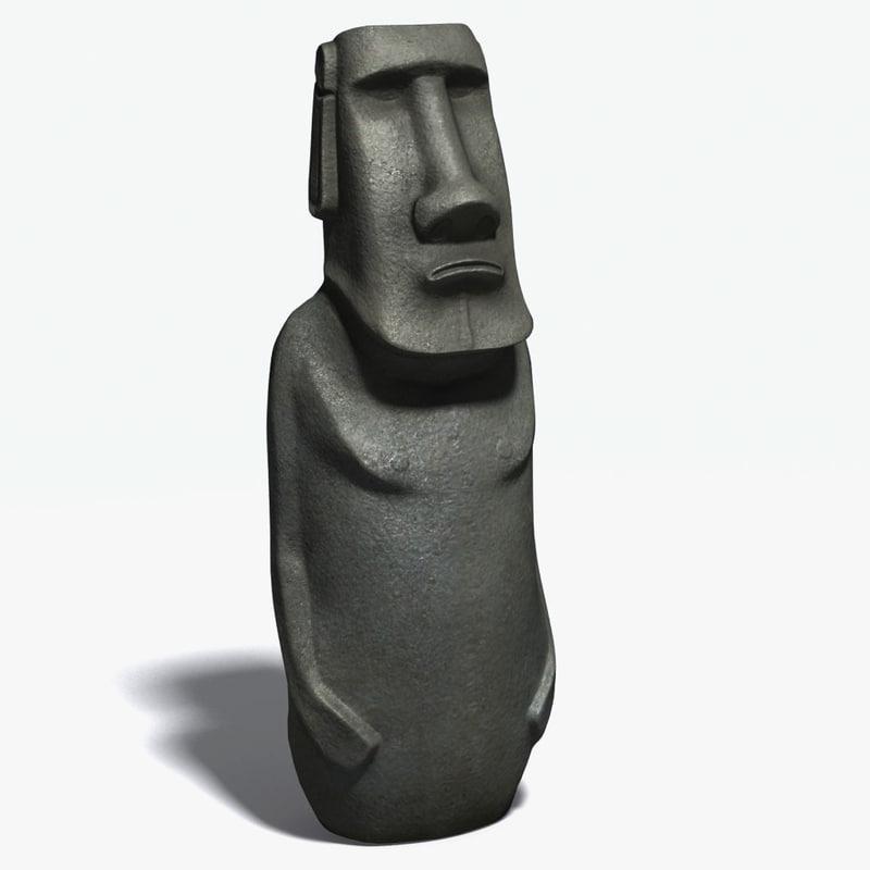 max hoa moai statues