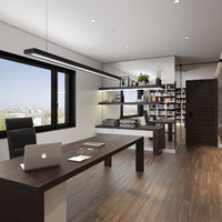 Contemporary Hotel Office