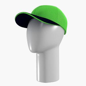 3d cap mannequin