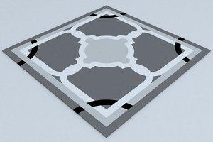 flooring 3d model