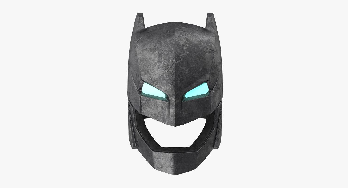 max batman power armor helmet