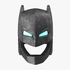 max batman power armor helmet