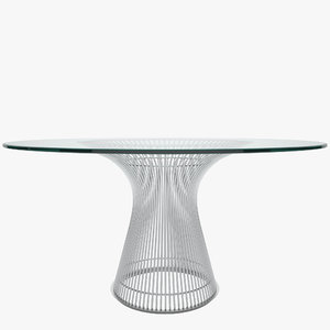 3d platner dining table