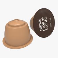 coffee capsule coffe 3ds