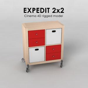 3d expedit 2x2
