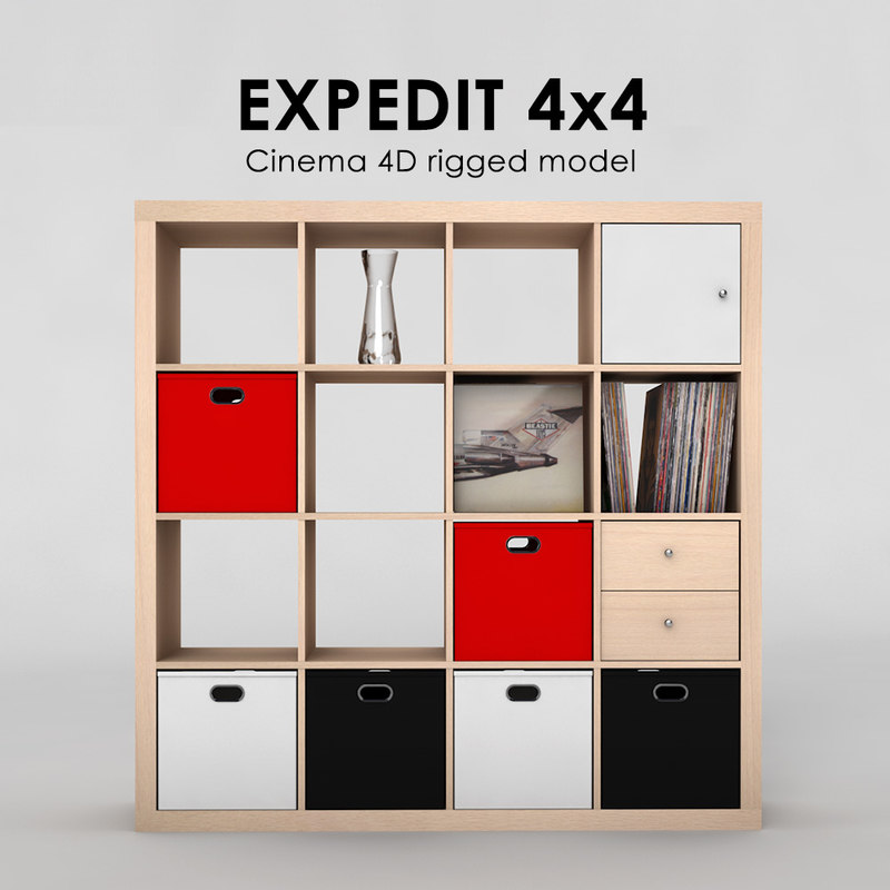 3ds ikea expedit 4x4