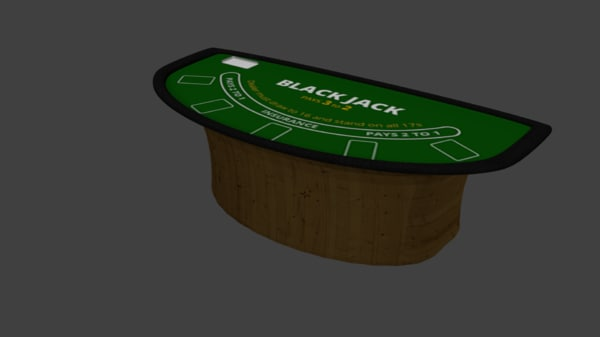 blackjack table 3d 3ds