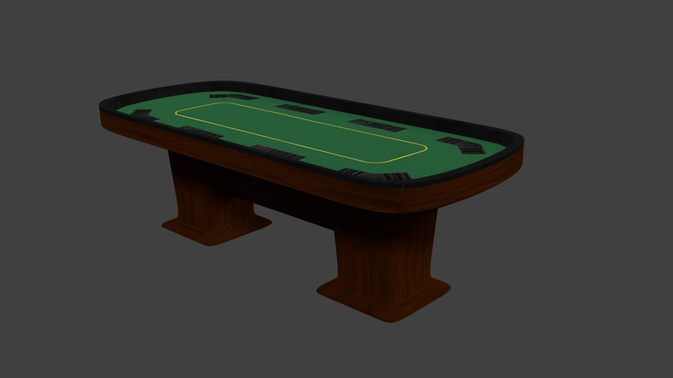 poker card table 3ds