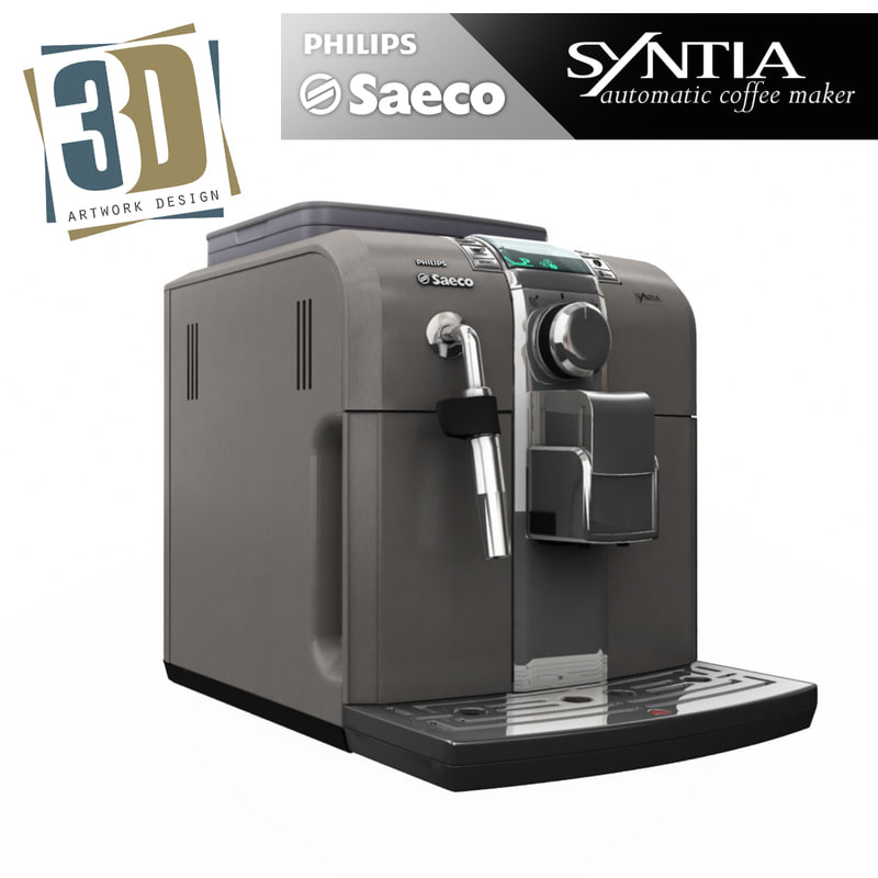saeco machines design 3d model