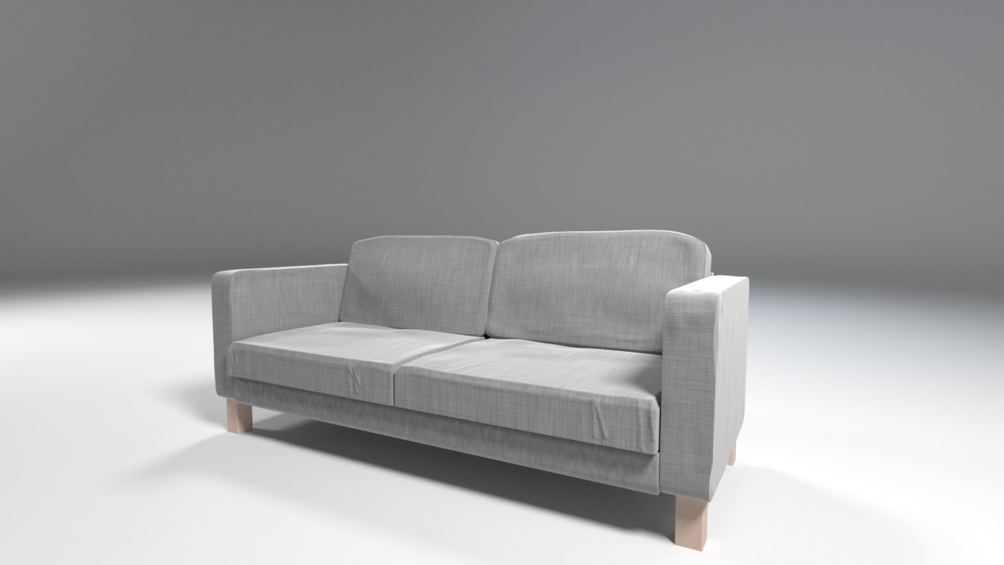 couch ikea e 3ds