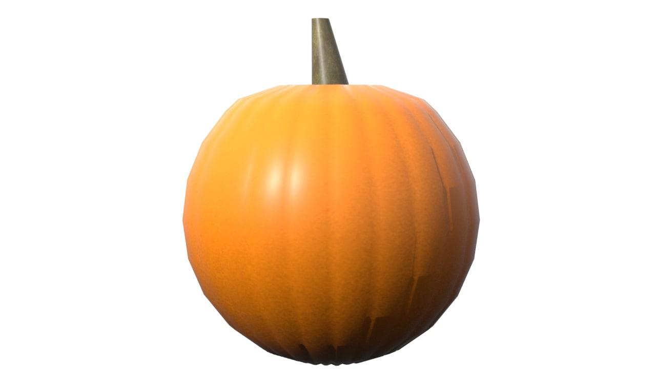 pumpkin lxf 3d fbx