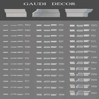 3d ceiling cornices gaudi decor