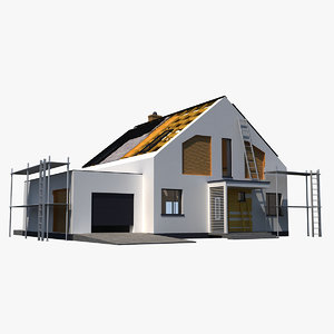 3d house construction