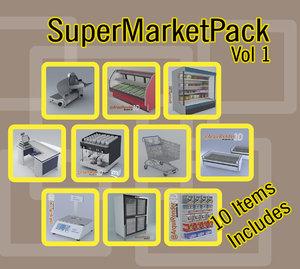 pack supermarket x