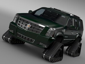 cadillac escalade crawler 3d 3ds