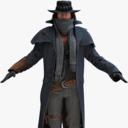 cowboy 3D models