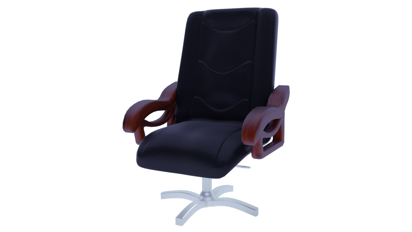 3d blend leather office chair