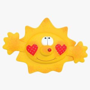 3d toy sun
