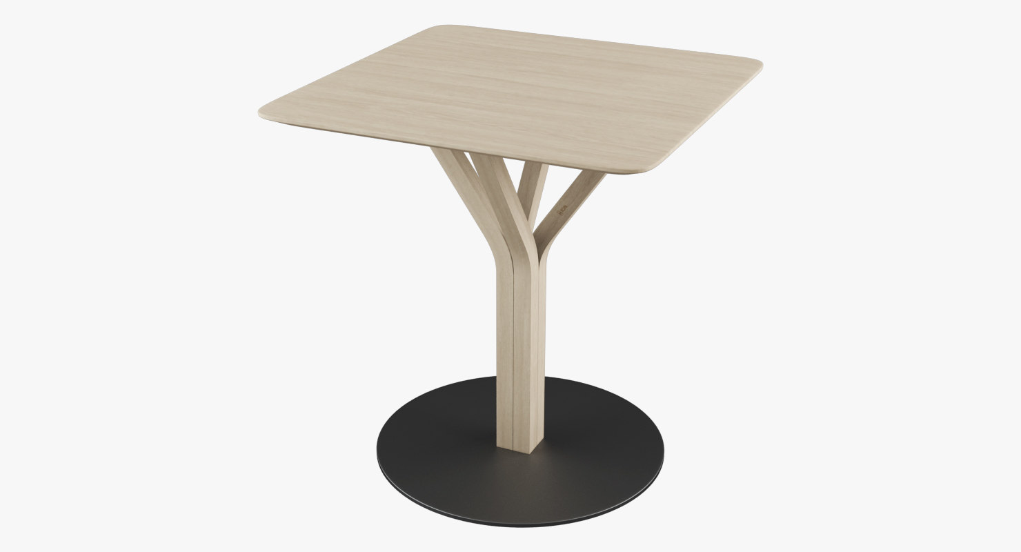 ton table bloom 3d model