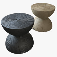 3d model clessidra stool