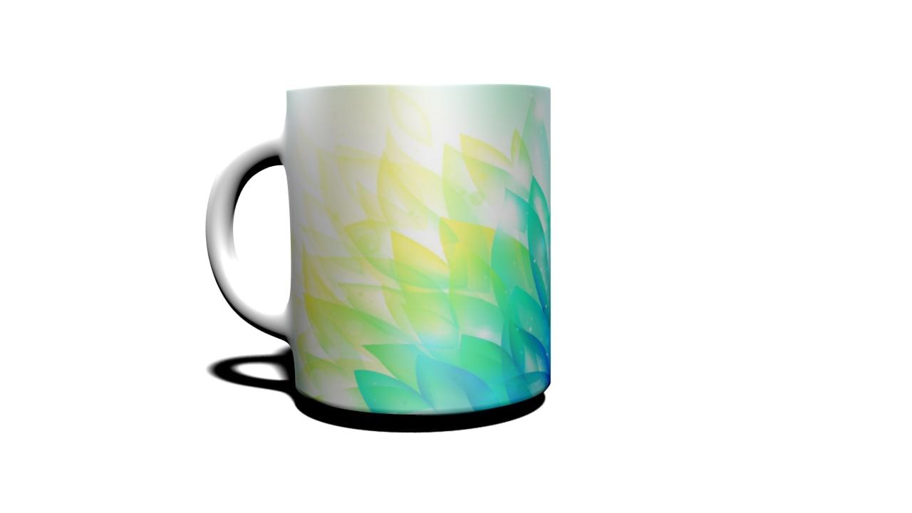 cup 3d obj
