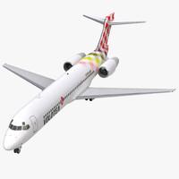3d boeing 717-200 volotea