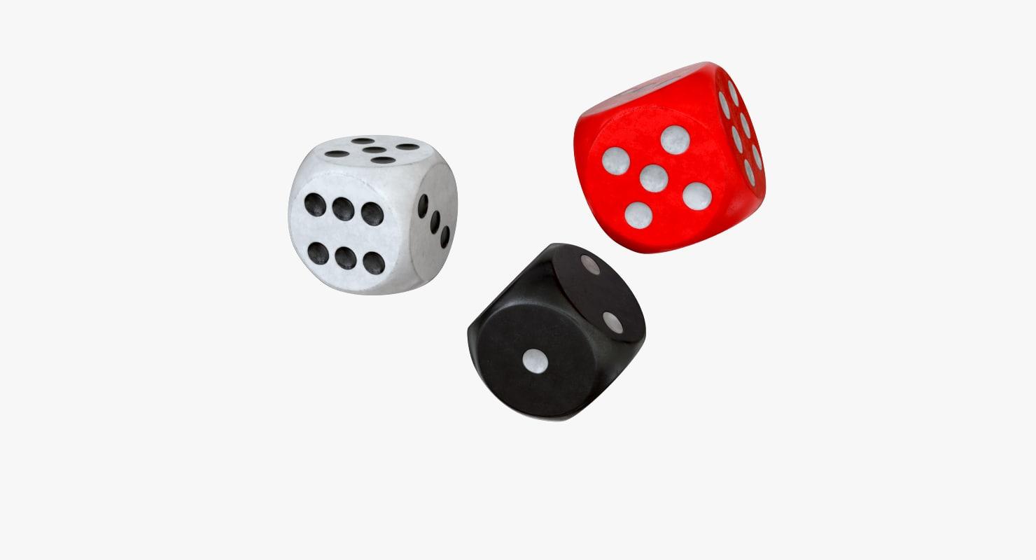 black dice 3d lwo