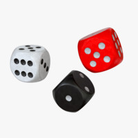 black dice 3d lwo