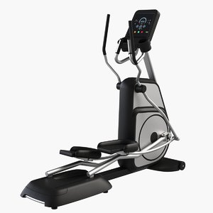 3d gym equipment elliptical trainer