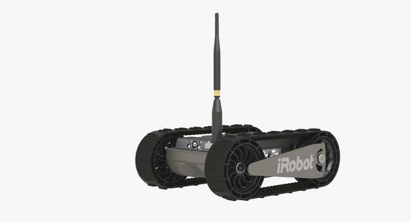 irobot 110 3d model