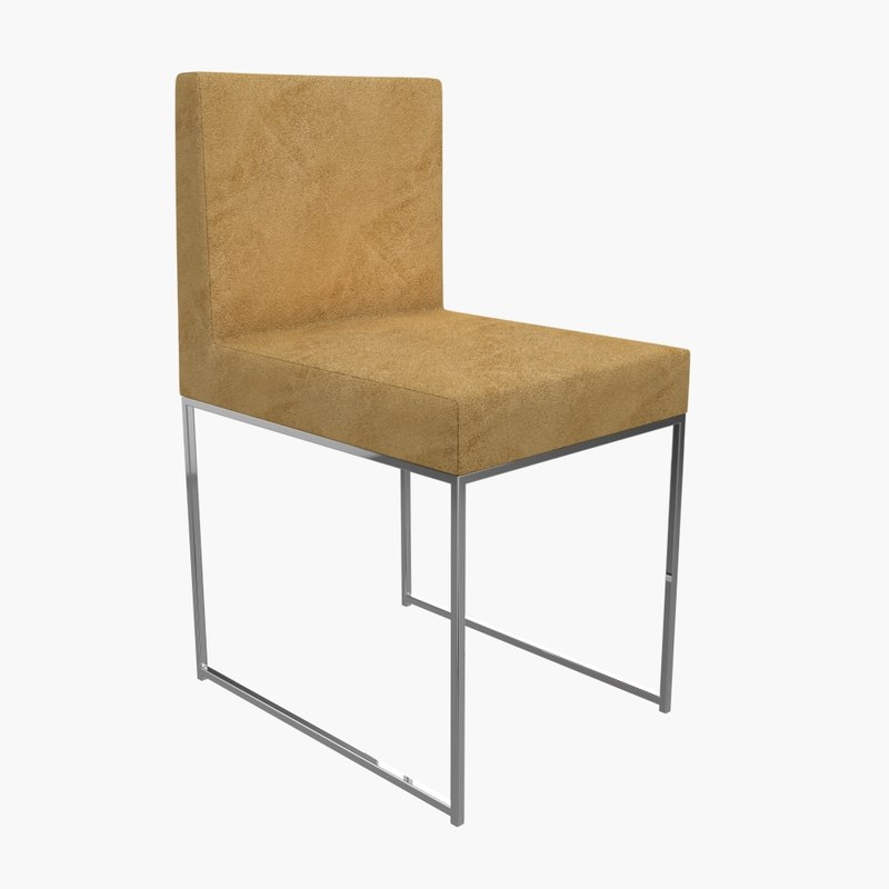 meridiani chair 3d model