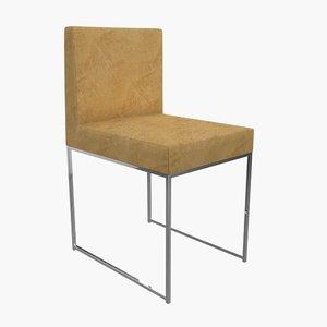 meridiani chair 3d model