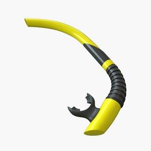3d snorkel model