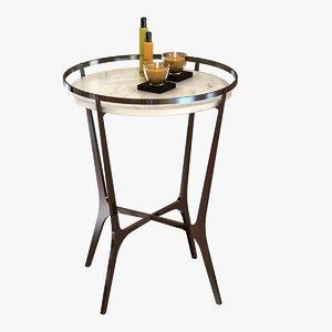 3d table chloe drink holly