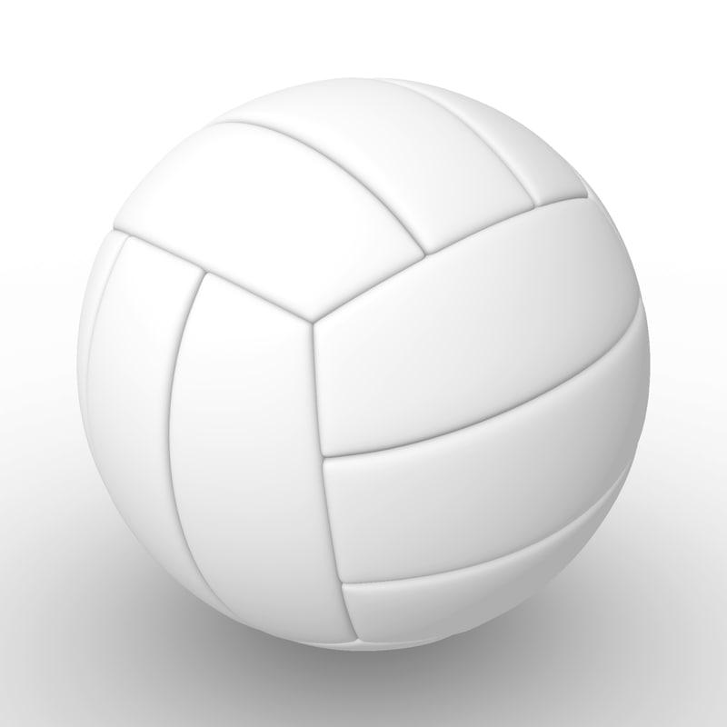 3d model volleyball sport equipment