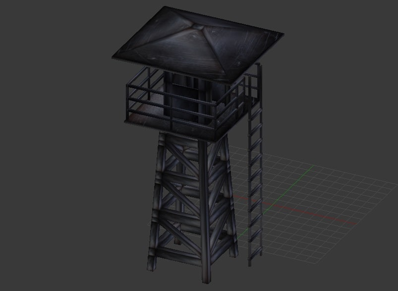 watchtower games used 3d model