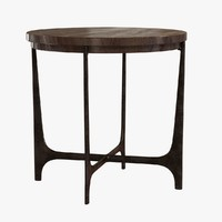 Holly hunt portia side table