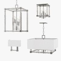 hudson valley alpine pendant lights 3d max