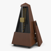 manual metronome 3d model